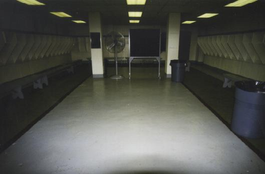 View Of The Buckeye Locker Room